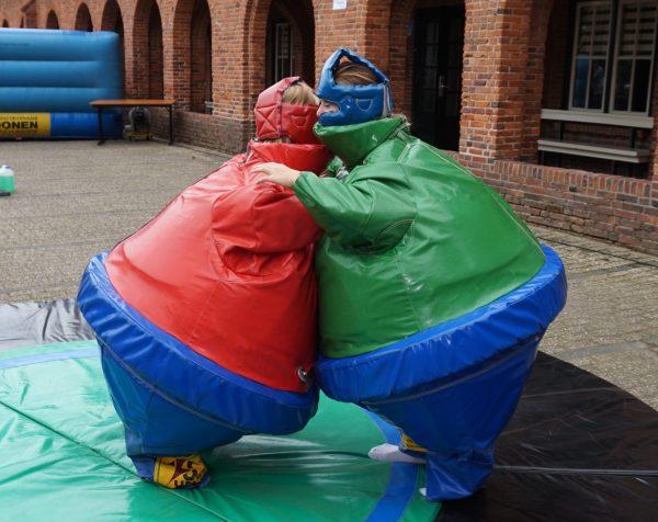 tournoi de sumo, family day