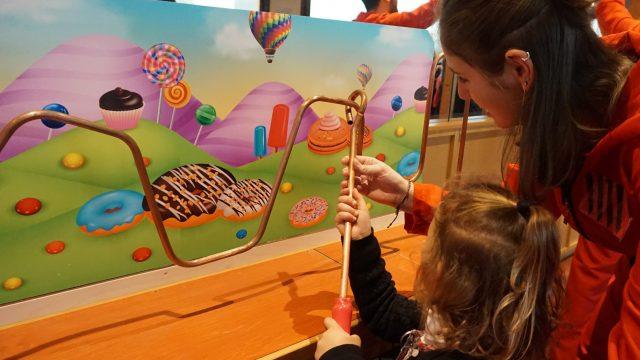 jeu de la chocolaterie wonka, fête de saint-nicolas