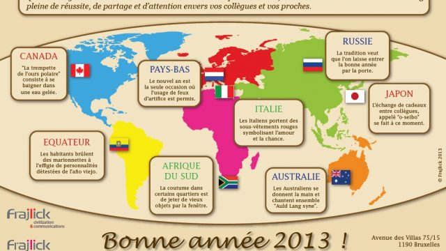 carte de nouvel an 2013 de l'agence Frajlick