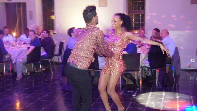 spectacle de Samba, fête du personnel