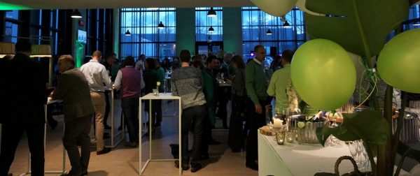 the green Touch, personeelsfeest