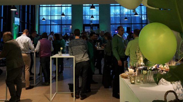 the green Touch, fête du personnel