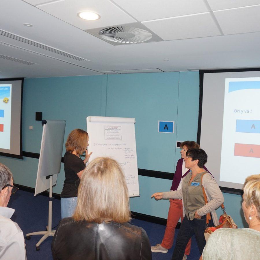 ideeënrondje workshop, meeting