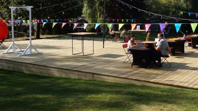 een evenement voor uw ploeg: de guinguette